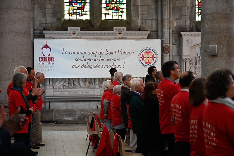 Assemblée synodale - Photo © M Lecuit