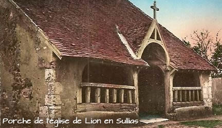 'église de Lion-en-Sullias