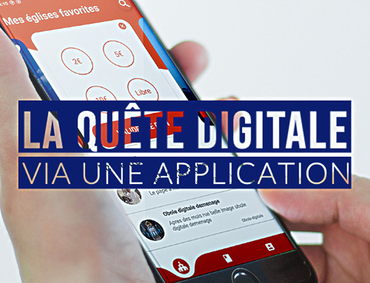 Quête digitale via une application