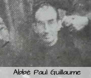 abbé Paul GUILLAUME